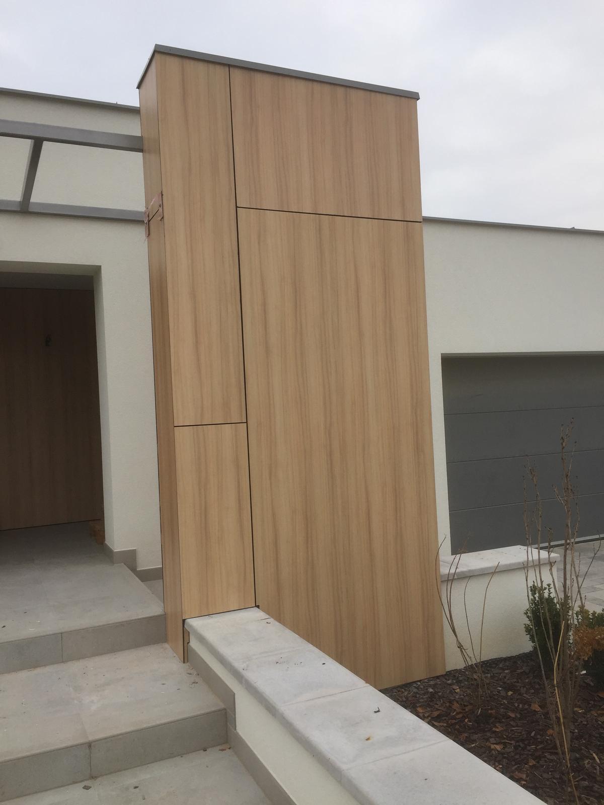 Odvetrané fasády - HPL obklad fasády