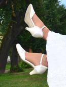 Svatební boty ivory velikost 37 (38), 37