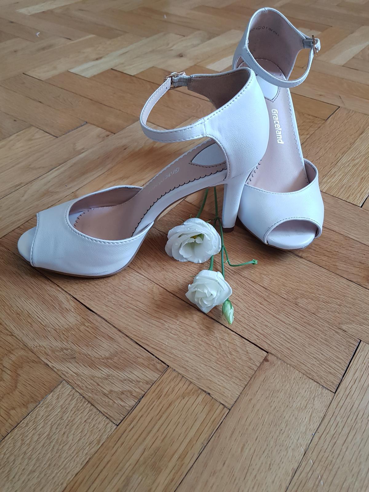 Svadobné pohodlné topánky - Obrázok č. 2