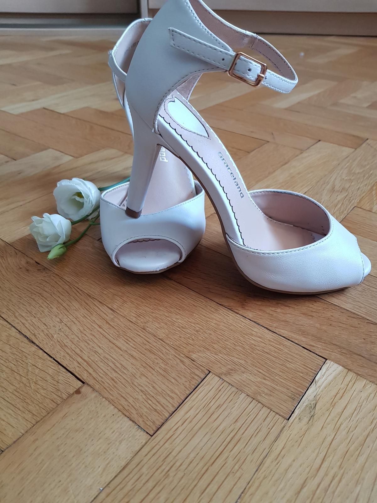 Svadobné pohodlné topánky - Obrázok č. 3