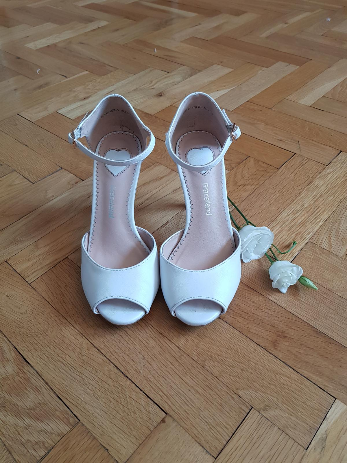 Svadobné pohodlné topánky - Obrázok č. 1