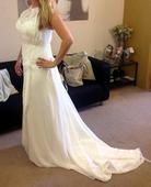 Svatební vílové šaty v boho stylu, 40