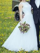 svatební šaty mostan, vel. 36-38, 36