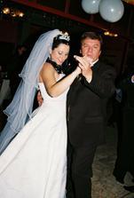 taniec s oteckom....