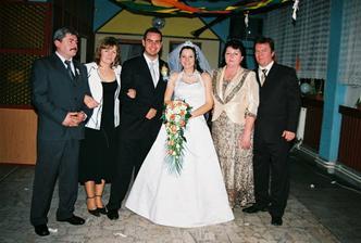 s mojimi rodicmi a krstnymi rodicmi....
