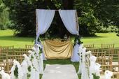 svatební brána,