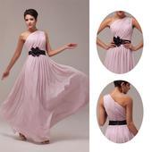 Ružové spoločenské šaty pre MOLETKY v. 48 až 54, 50