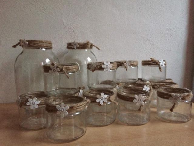 Ozdobné sklenice - Obrázek č. 1