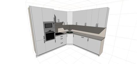 Návrh kuchyně od truhláře