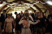 Světelné řetězy na svatbu,