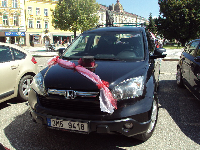 Lucie{{_AND_}}Jiří - ženichovo auto