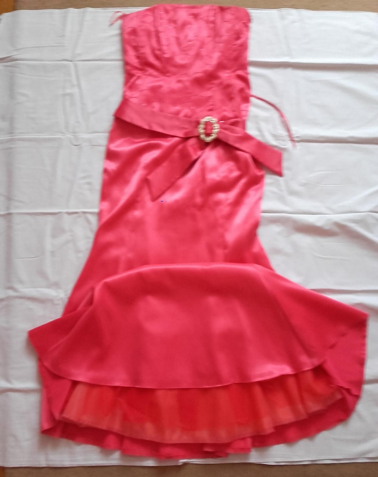 Dlhé spoločenské korzetové šaty, veľkosť č. 36/38 - Obrázok č. 1