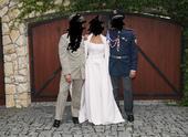 Svatební šaty vel. 36-42, 38