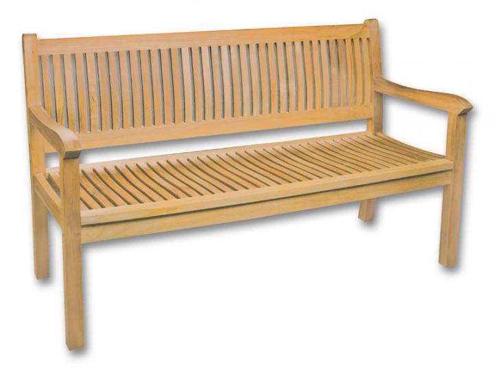 Nemáte někdo tuto teakovou lavičku z Mountfieldu? Jak jste s ní spokojení? Díky! - Obrázek č. 1