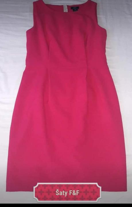Dámské pouzdrové šaty - Obrázek č. 1