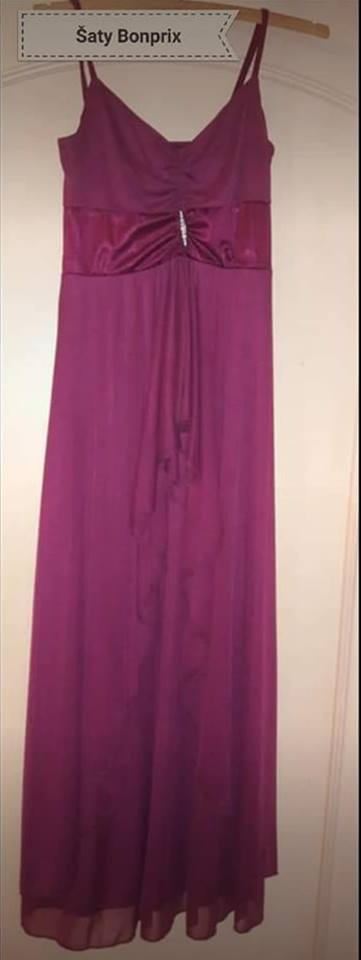 Fialové šaty - Obrázek č. 1
