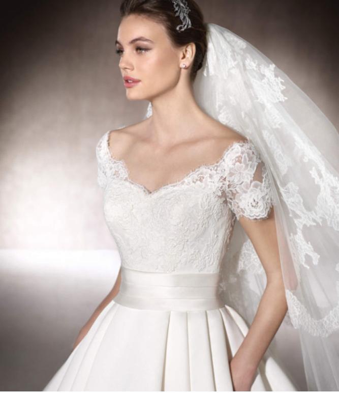 Svadobné šaty veľ.40 - Obrázok č. 4