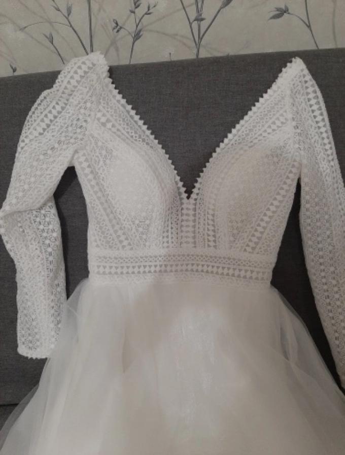 Svadobné šaty veľkosť 44/46 - Obrázok č. 3