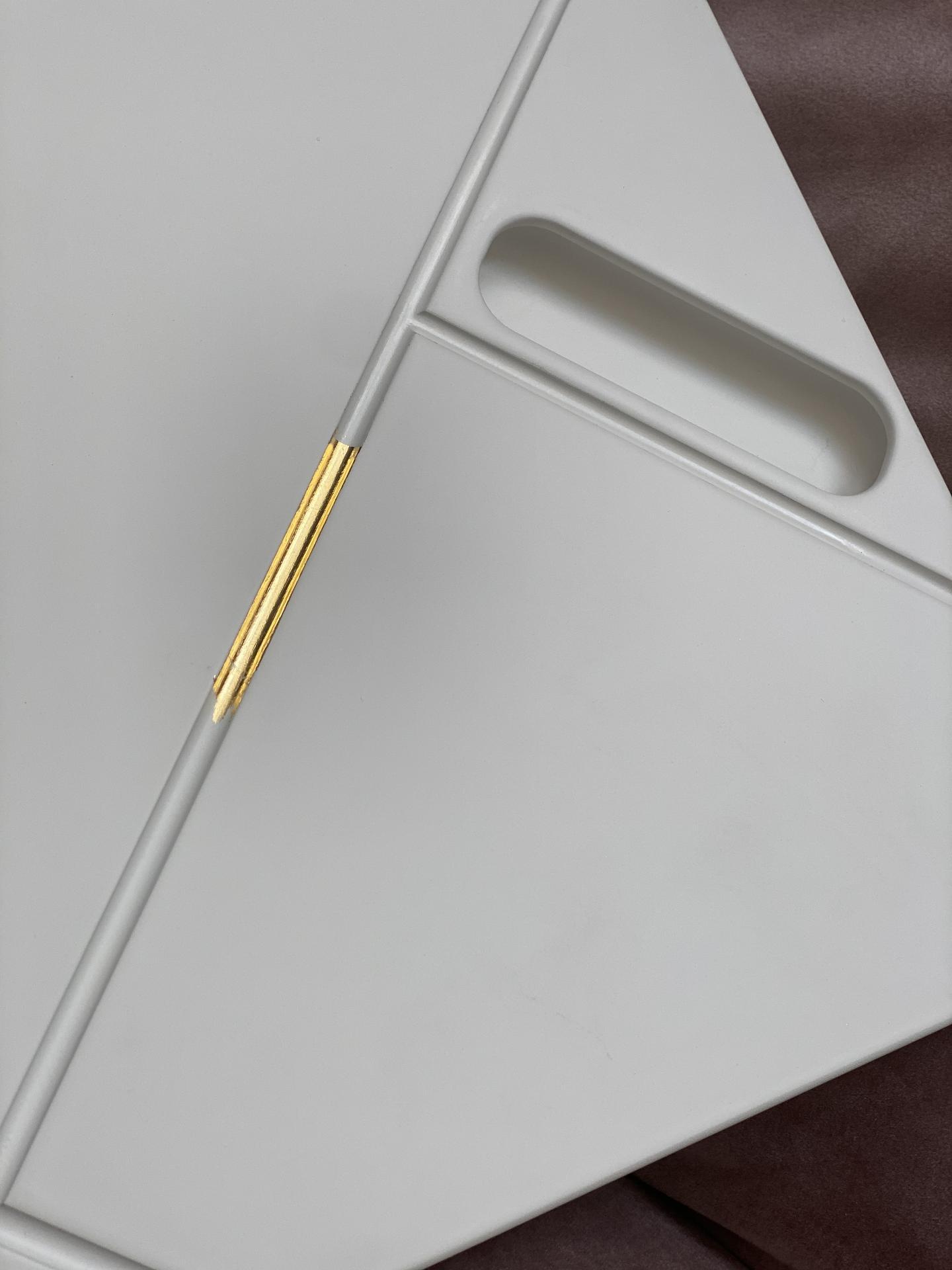 Heslo: Extravagancia & Luxus ❤️ - Skúška na pozlacovanie dverí 24 karátovým zlatom... ak sa mi to podarí bude to skvost!❤️