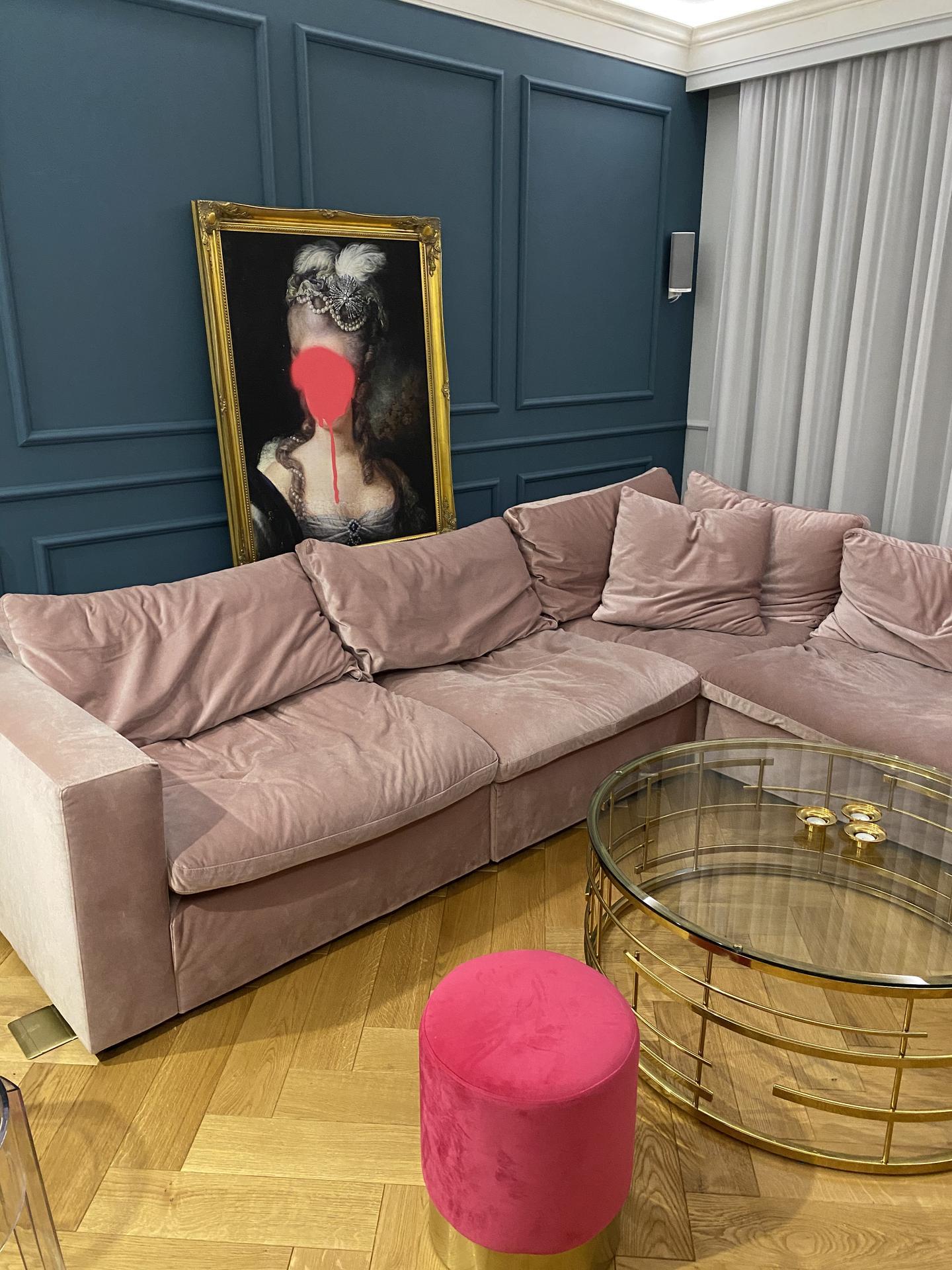Heslo: Extravagancia & Luxus ❤️ - Za mňa šperk našej obývačky... unikát❤️❤️❤️❤️