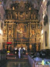 v Katedralnom chrame sv. Jana Krstitela v Trnave