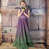 Romantické dívčí šaty Fler vel.134/140 , 134