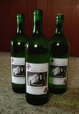 Naše svadobné vínko do výslužky ;)