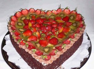nebo takhle, prostě ovoce, nic moc těžkýho do žaludku... :-)