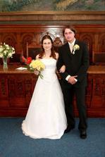 novomanželé Humplíkovi :)