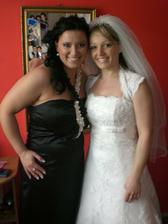 Ja a moja sestricka ako nevesta:-)
