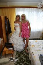 já a moje falešná nevěsta:-)))