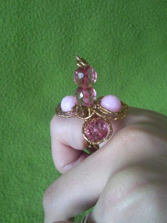 """Moje výtvory - prsteň pre """"Alicu"""" :)"""