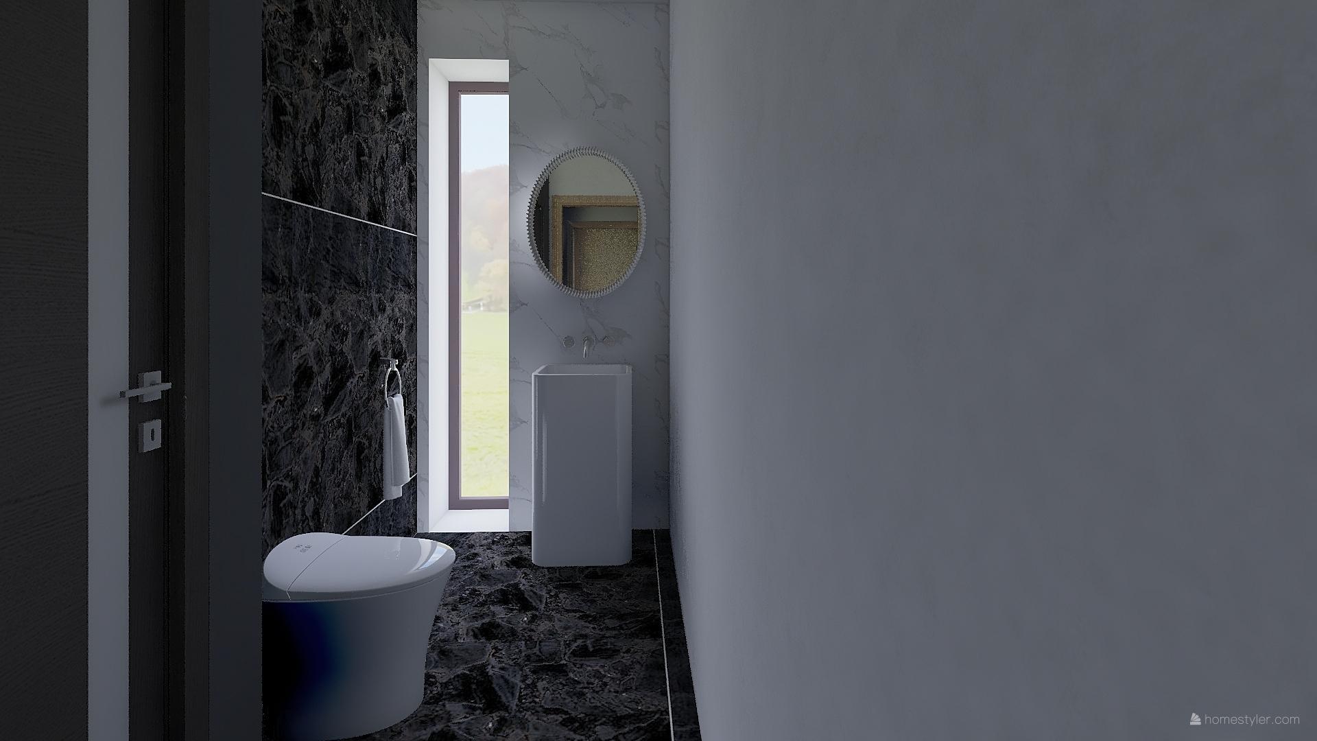 Mé dokonale nedokonalé vizualizace našeho budoucího domu - samostatné WC nakonec bude :-)