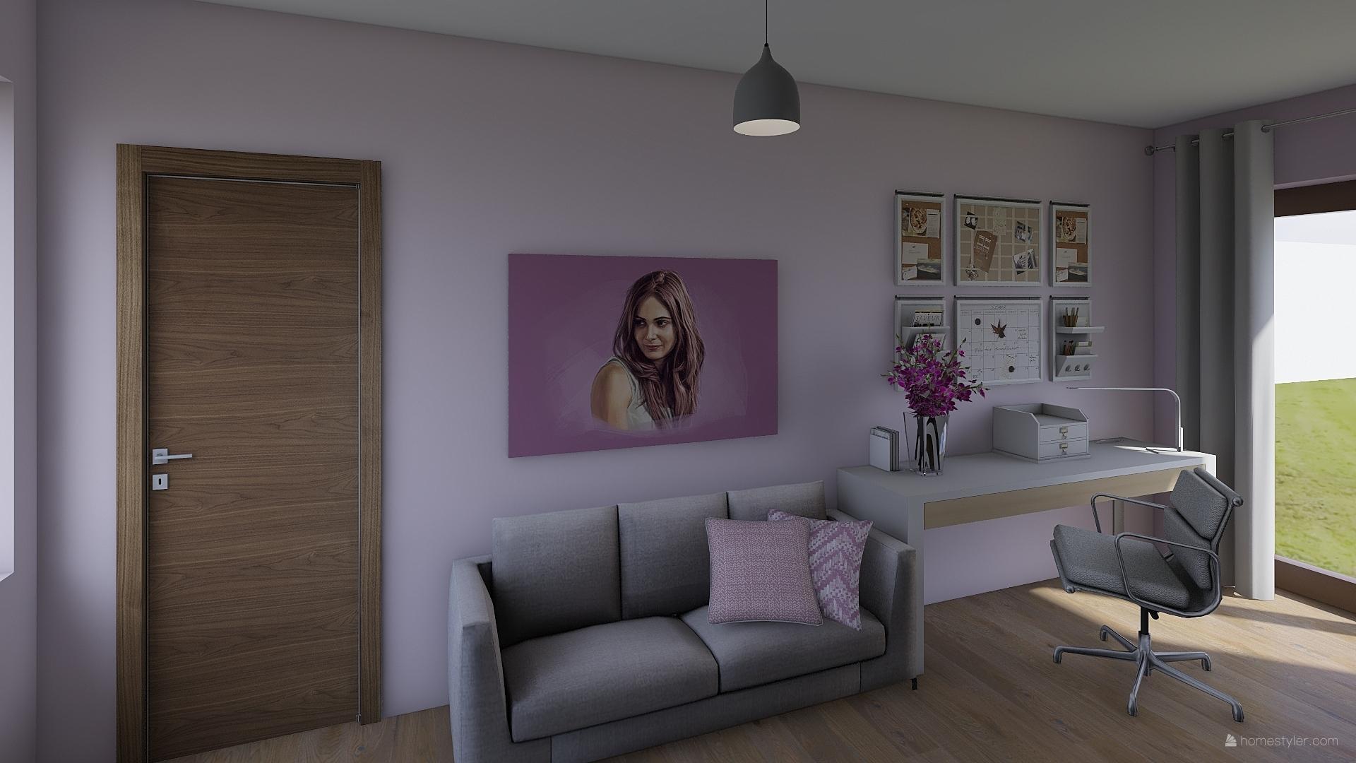 Pro @bungalov8  - pokoj pro holčičku vizualizace - Obrázek č. 1