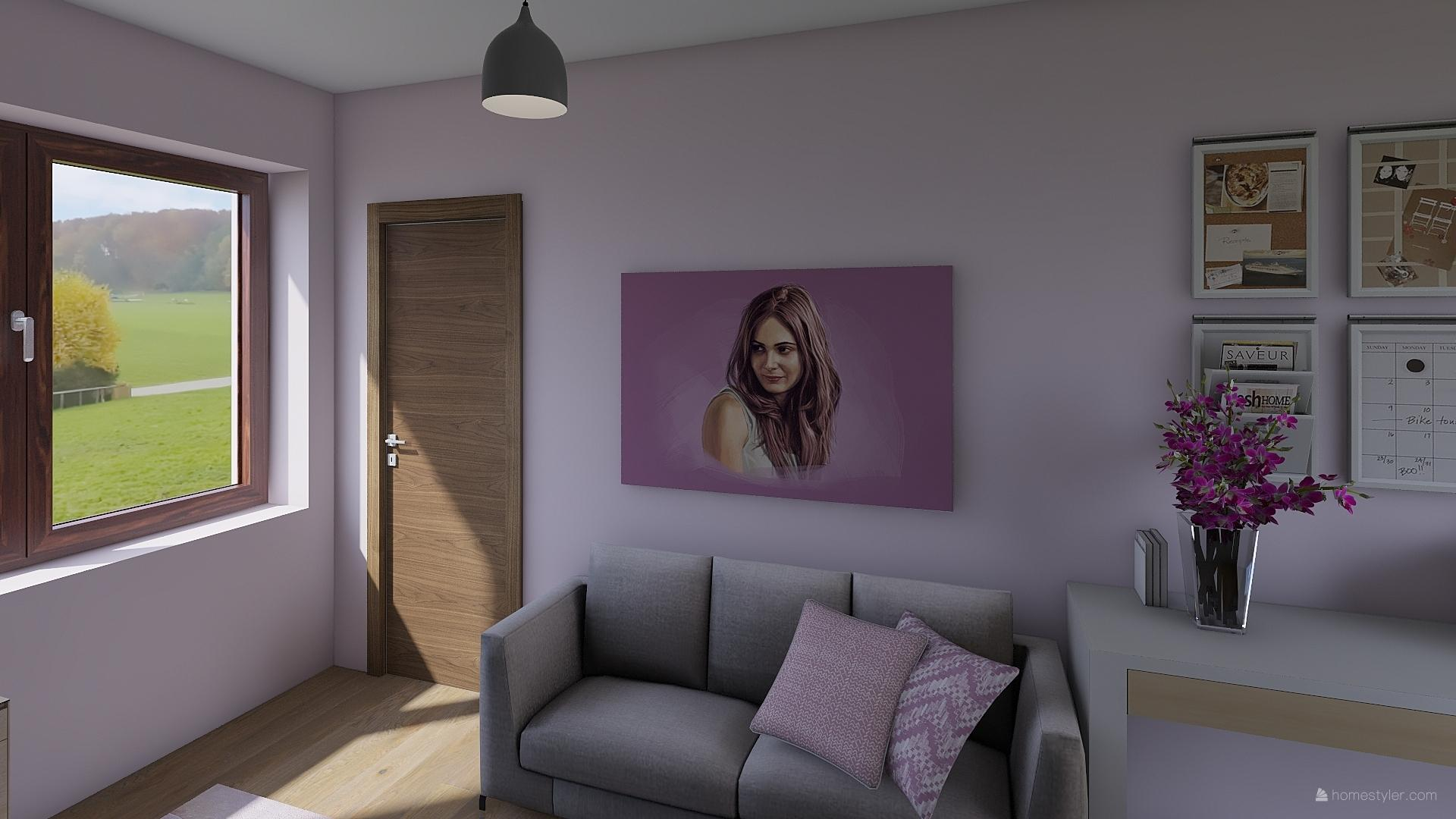 Pro @bungalov8  - pokoj pro holčičku vizualizace - Obrázek č. 3