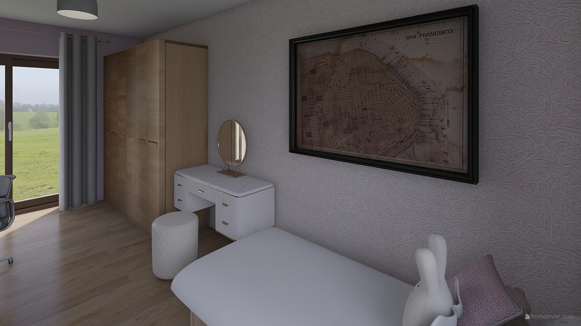 Pro @bungalov8  - pokoj pro holčičku vizualizace - Obrázek č. 10