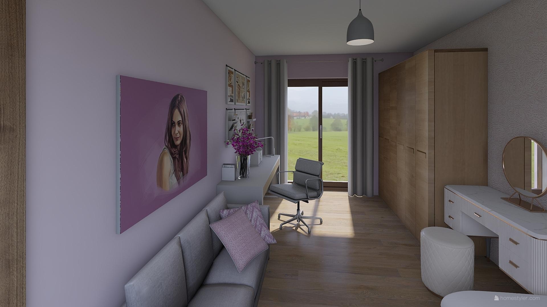 Pro @bungalov8  - pokoj pro holčičku vizualizace - Obrázek č. 12