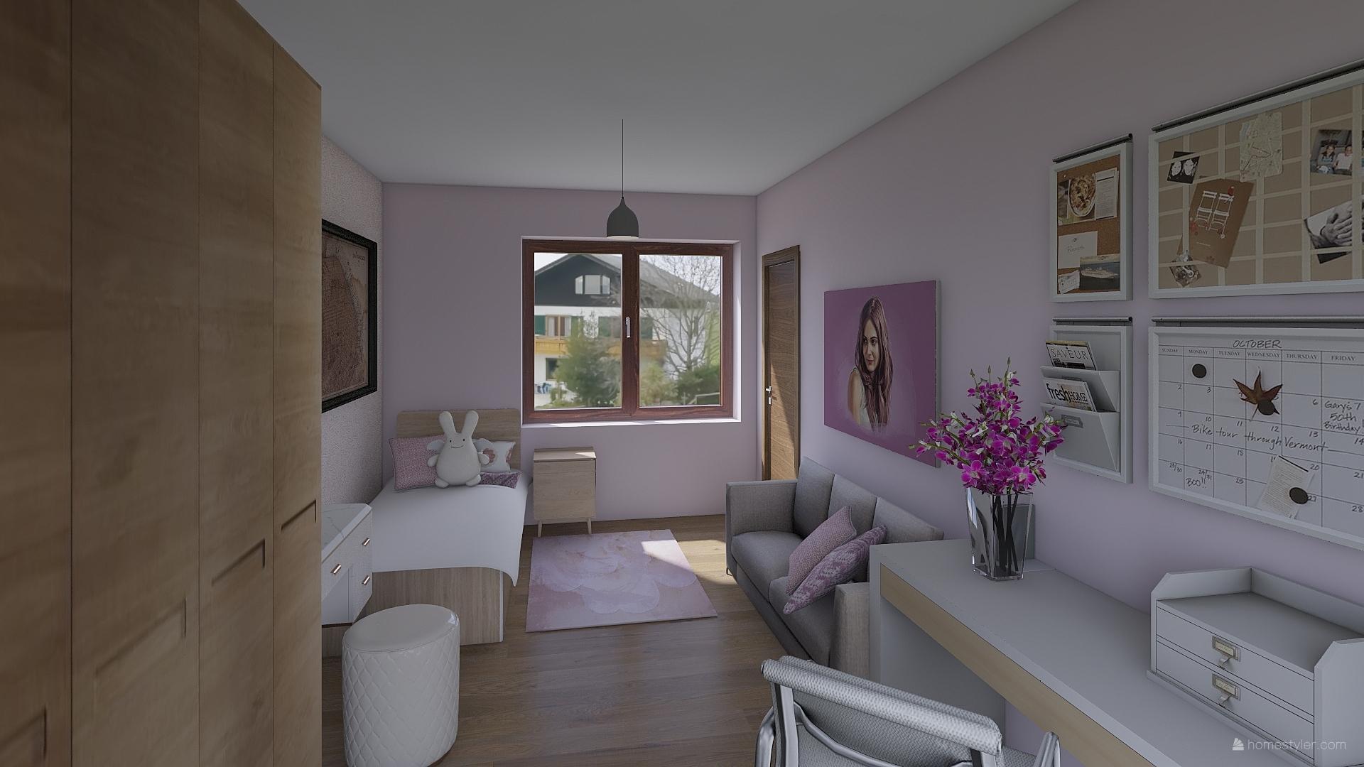 Pro @bungalov8  - pokoj pro holčičku vizualizace - Obrázek č. 13