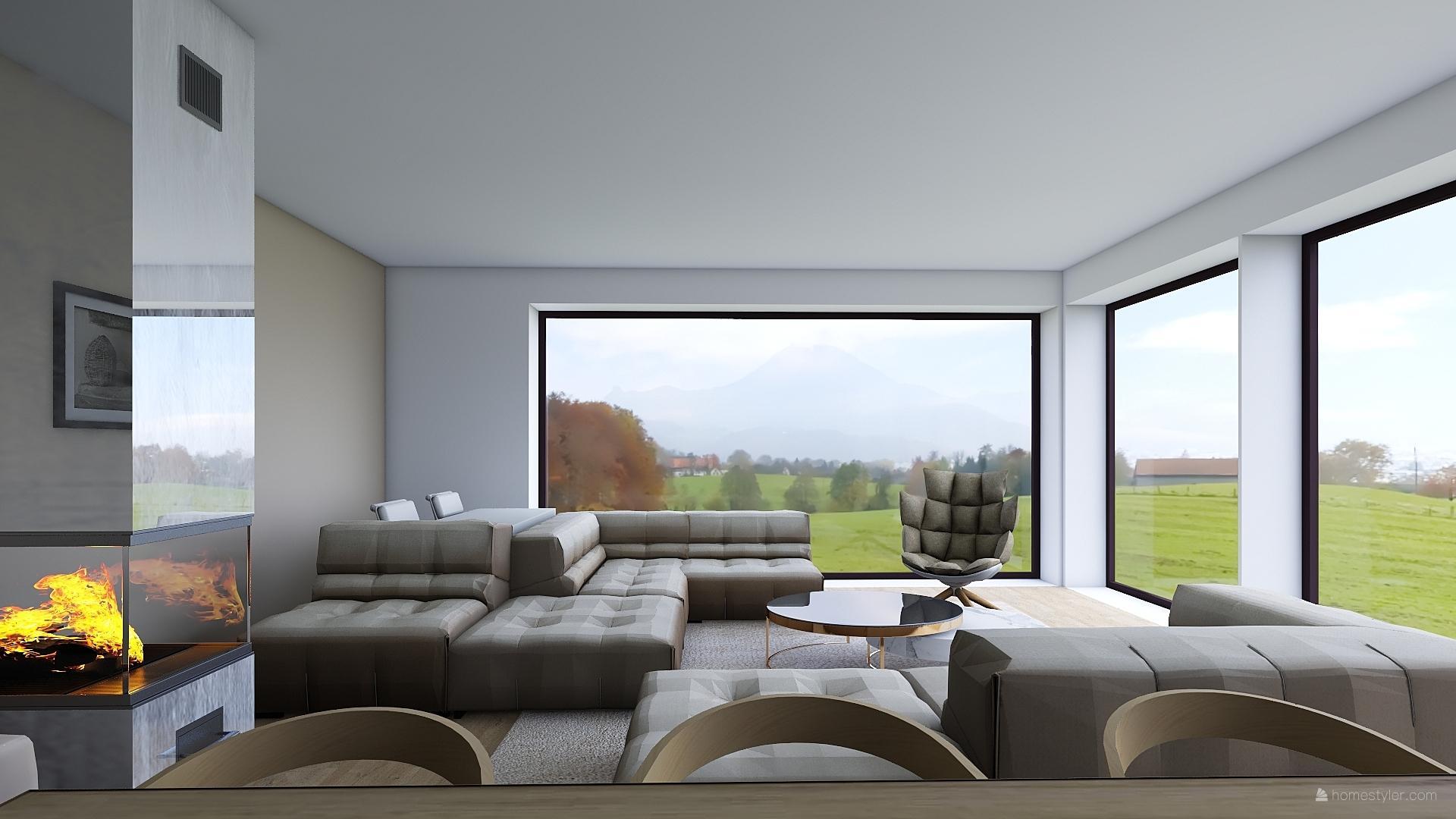 Mé dokonale nedokonalé vizualizace našeho budoucího domu - Bez monitorů.
