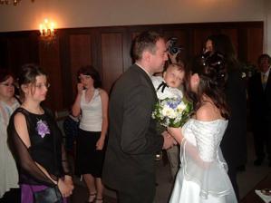pusina od nejmladšího svatebčana