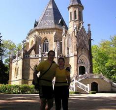 """""""sportovní"""" svatební cesta v Třeboni. Sice byla až po roce, ale byla!"""