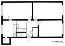takýto je byt v pôvodnom stave