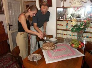A krájanie torty (diki Paťka) ...