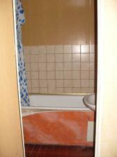 koupelna před likvidací