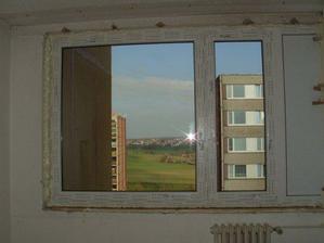 nová okna v Rudolfově pokojíčku