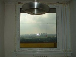 nová okna v kuchyni
