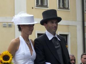 detail budoucích novomanželů