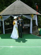svatební altánek