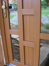 vstupní dveře - detail
