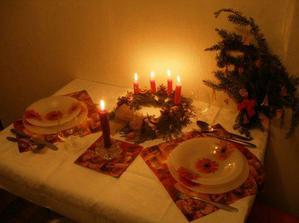 Naše první společné Vánoce